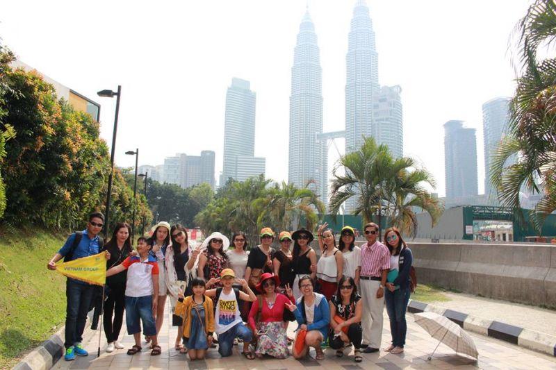 Tour SING - MAL và SING - MAL - INDO  6/2015