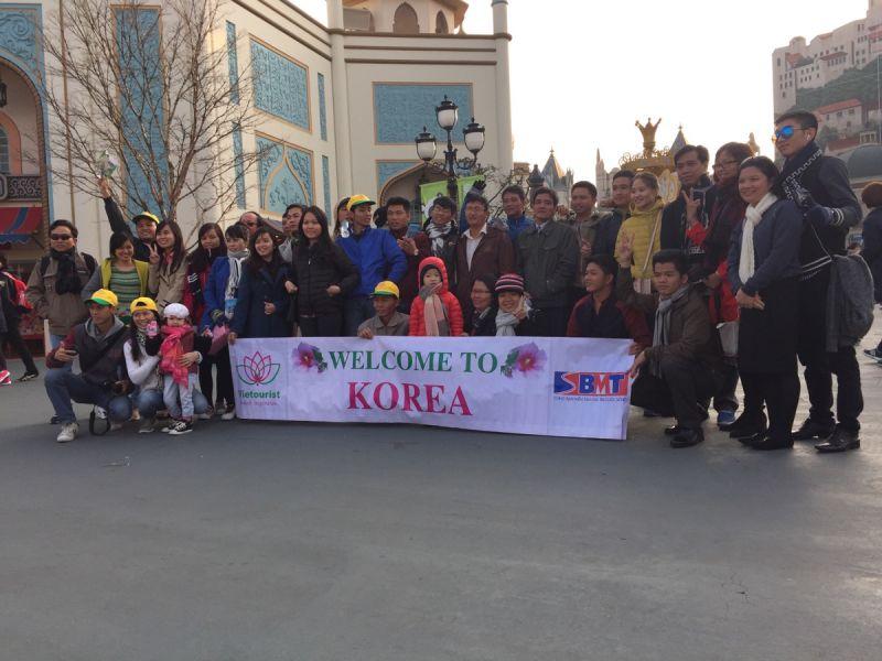 Tour du lịch Hàn Quốc 18/03/2016