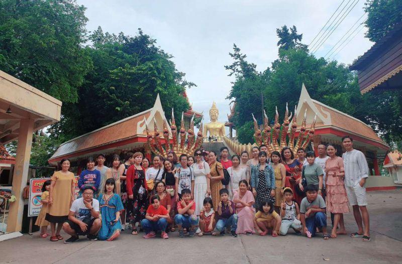 Hình khách tour Thái Lan