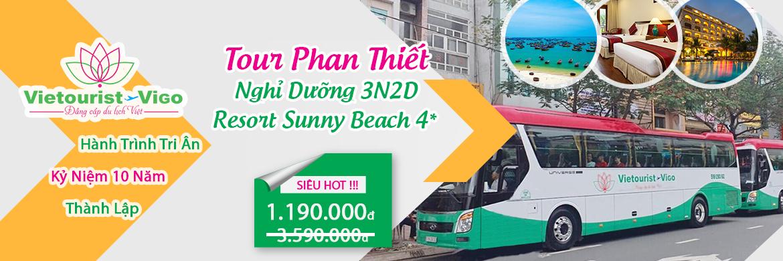 Tour Sài Gòn - Phan Thiết 3 ngày 2 đêm