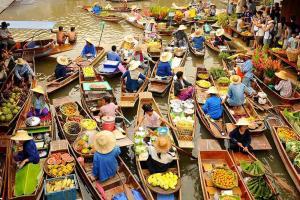 Chợ Nổi Bốn Miền - Điểm Đến Không Thể Bỏ Qua Khi Đến Pattaya, Thái Lan