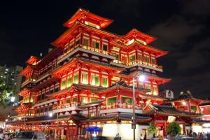 Tìm Hiểu Về Nét Kiến Trúc Độc  Đáo Của Chùa Răng Phật Ở Singapore