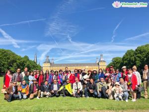 Đoàn Du Lịch Châu Âu 5 Nước: Pháp - Luxembourg - Đức - Bỉ - Hà Lan 8.5 - 16.5