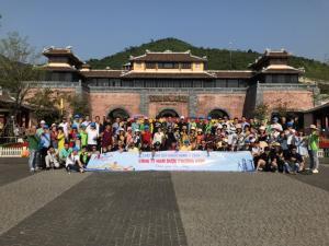 Hình Các Đoàn Riêng Du Khách Tham Gia Tour Cùa Vietourist-Vigo 2018-2019