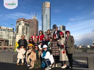 Hình Khách Hàng Tham Gia Tour Úc Brunei Cùng VieTourist