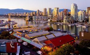 Bán Đảo Granville, Vancouver - Điểm Đến Lý Tưởng Khi Du Lịch Canada