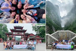 Tour Du Lịch Khách Đoàn Trung Quốc - Phượng Hoàng Cổ Trấn - Công Ty Nam Dược