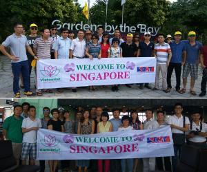 Tour Du Lịch Khách Đoàn Singapore - Công Ty Cổ Phần Đầu Tư Xây Dựng BMT