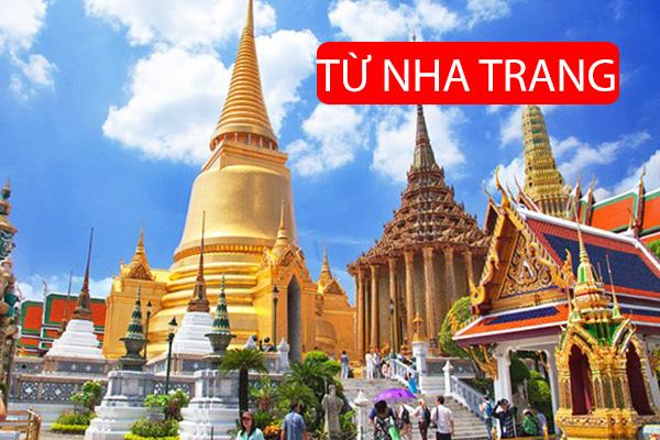 Tour Du Lịch Thái Lan Từ Nha Trang 4 Ngày 3 Đêm: Bangkok - Pattaya