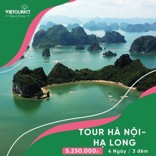 Tour Du Lịch Hà Nội - Hạ Long 4 Ngày 3 Đêm (Ngủ Tại Tàu)