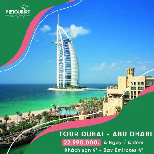 Tour Du Lịch DuBai - Abu Dhabi Khởi Hành Từ Sài Gòn