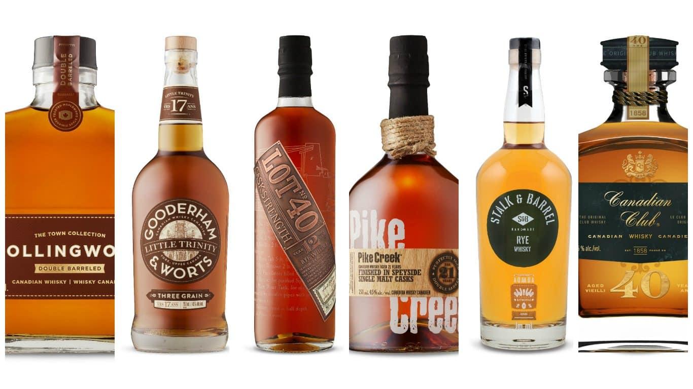 Whisky Canada - Món quà tuyệt vời cho những người đam mê rượu