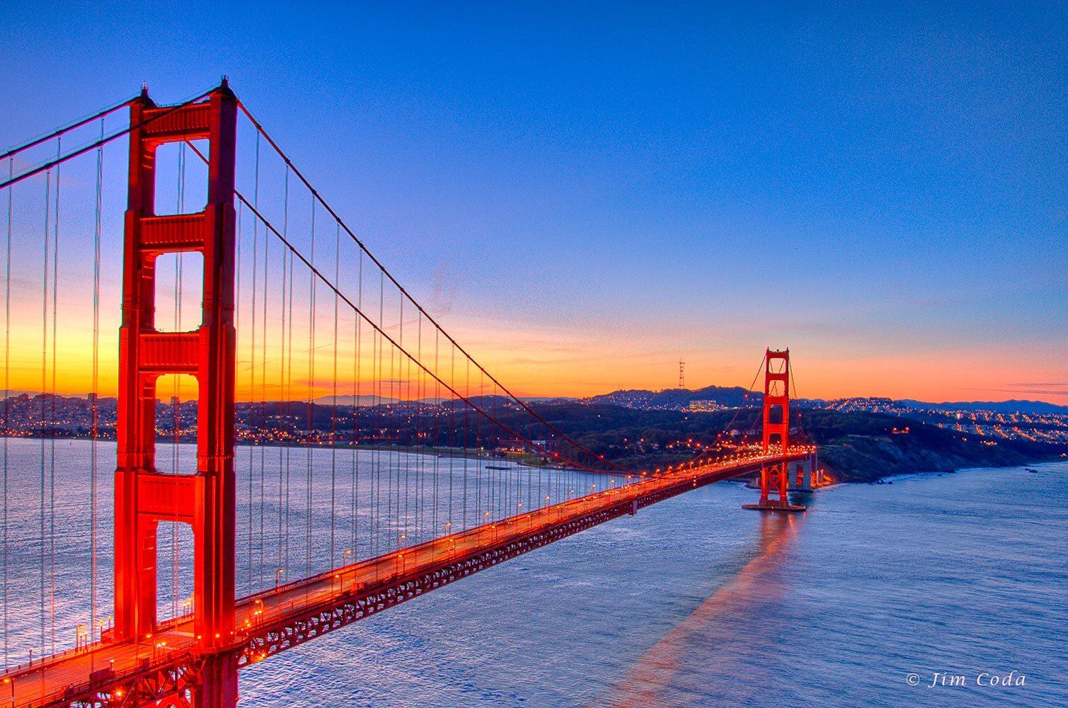 Cầu Treo Golden Gate - Chuyên tour du lịch Mỹ