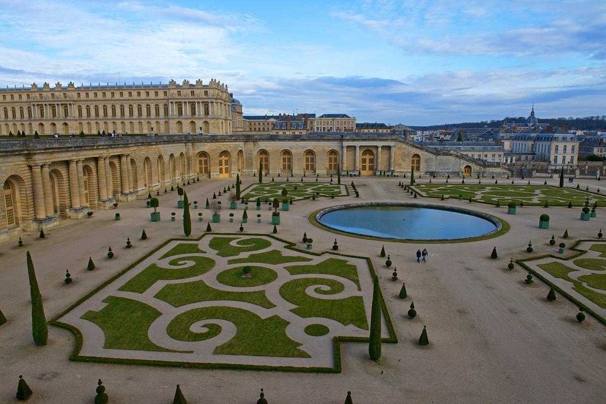 du lịch châu âu - cung điện Versailles