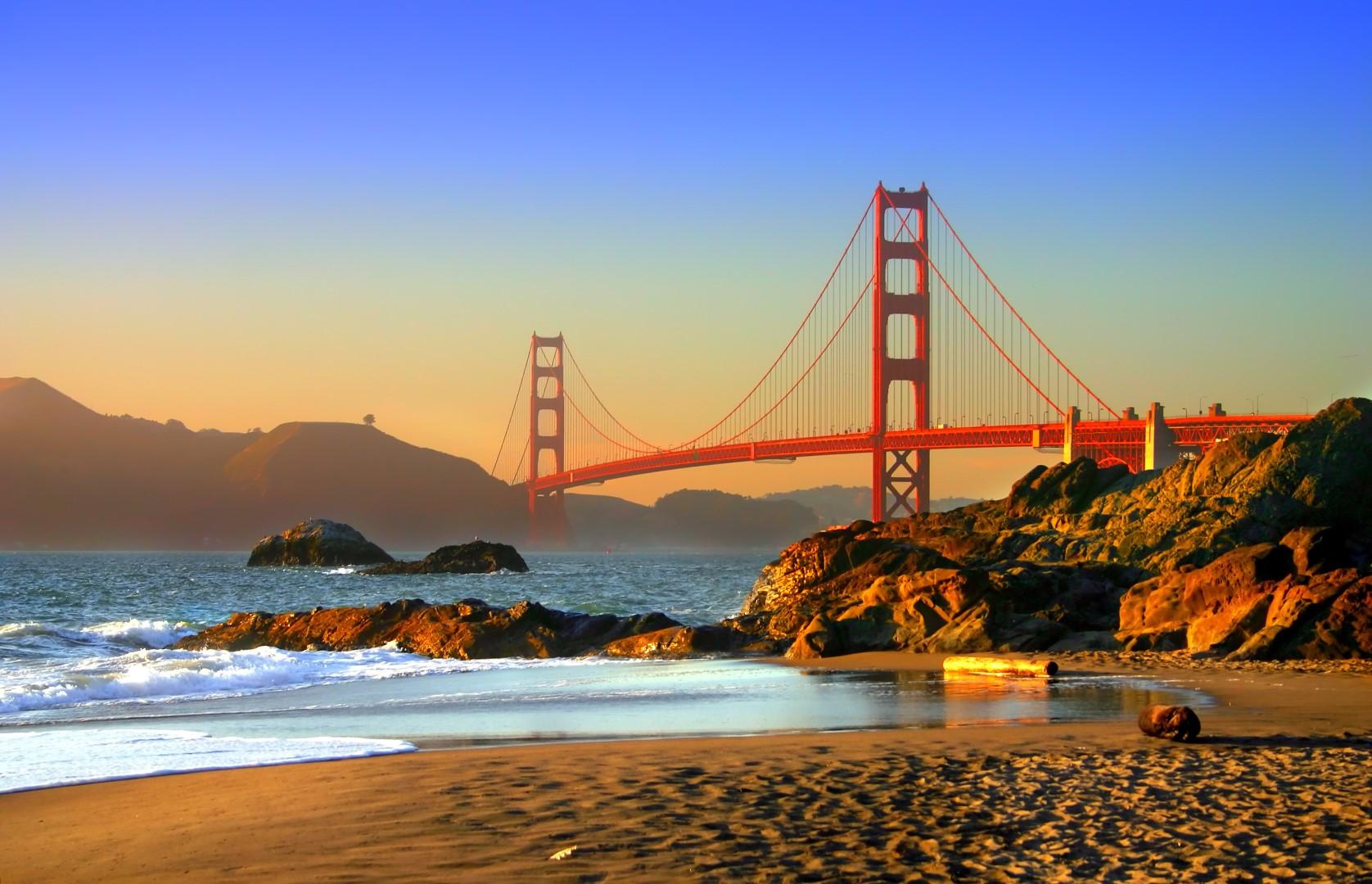 Du lịch Mỹ - Cầu cổng Vàng
