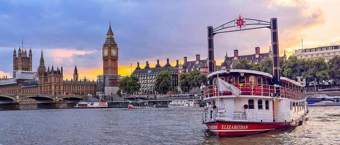 Du thuyền sông Thames