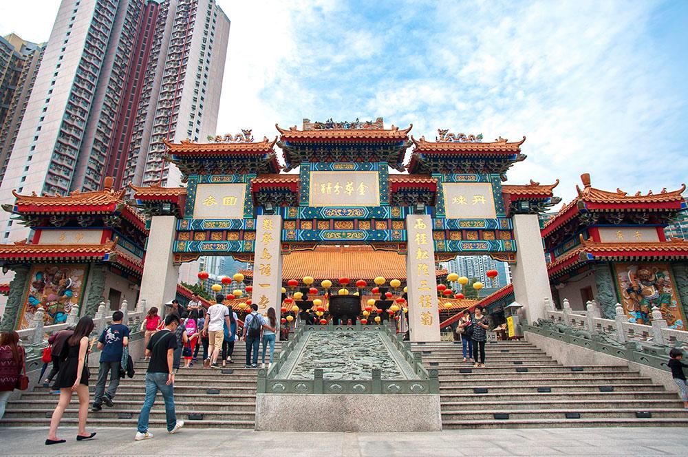 Miếu thần tài Hong Kong