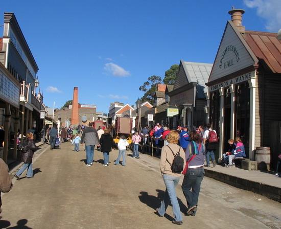 Thị trấn Ballarat Úc
